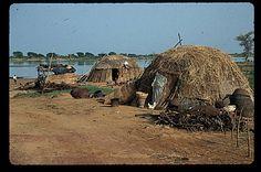 Homes in a Malian villiage