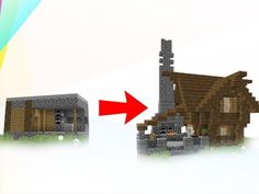 Jeracraft - How to transform a Village Blacksmith House