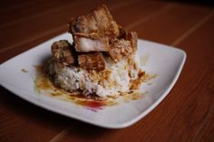 Chinese-style Fried Pork (and about puff pastry) | The Hungry Giant