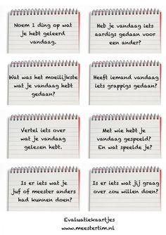 Bekijk de foto van -Cor met als titel Leuke evaluatie kaarten en andere inspirerende plaatjes op Welke.nl.