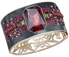 #Swarovski Story Bangle inspired by Byzantine jewelry : #FW12 Collection