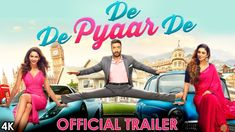 De De Pyaar De official trailer, Luv Ranjan's de de Pyaar de could be a up to date rom-com with a unusual fight urban relationships. The film prima Ajay Devgn, Tabu and Rakul Preet Singh is directed by the known Hindi film editor, Akiv Ali. Hindi Movies, New Comedy Movies, Telugu Movies, New Movies, Movies Bollywood, Bollywood News, Latest Movies, Movies Online, Kerala