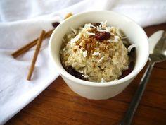 coconut quinoa pudding