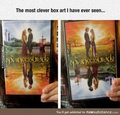Funny pictures about Clever Box Art. Oh, and cool pics about Clever Box Art. Also, Clever Box Art photos. Princess Bride Funny, Princess Bride Quotes, Stupid Funny, Funny Jokes, Hilarious, Movies Showing, Movies And Tv Shows, Fandoms, Box Art