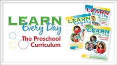 Are you looking for a comprehensive, engaging, and affordable preschool curriculum? Introducing Learn Every Day™: The Preschool Curriculum:
