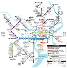 Big Philadelphia Subway Map