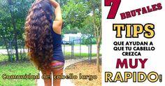 RECETAS PARA UN CABELLO LARGO Grow Hair, Hair Care, Hair Beauty, Dreadlocks, Hairstyle, Long Hair Styles, Longer Hair, Carne, Women