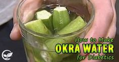 How to Make Okra Water for Diabetics Are you diabetic? or know someone who is?? Then you might have wondered if there are any natural remedies that can help treat someone who has the condition. Yesthere are, and medical science is only now starting to realize the benefit of plants that we've had access to …