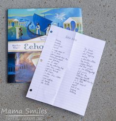 Reverso poems for kids and other fun poetry activities for kids. Kids will love learning about poetry and creating their own poems with these fun ideas!