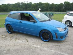 Love the paint job on these wheels Ford Focus Svt, Focus Rs, American Motors, Mk1, Felicia, Wheels, Paint, Cars, Vehicles