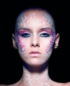fantasy makeup..I wish I could do my makeup like this everyday.
