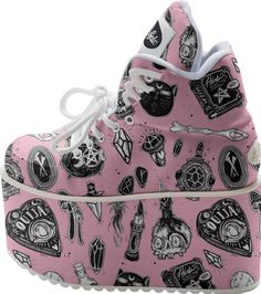 Witchy ♡ BUFFALO PLATFORM from Print All Over Me