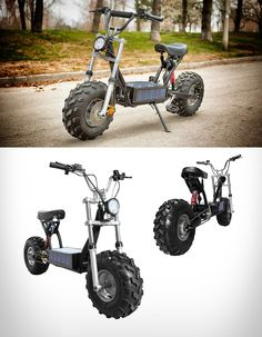 The Beast is a street-legal ebike, allowing riders to enjoy it on the trails, in the woods, on rough terrain, or in the city. Main features include a Daymak solar panel and an enclosed battery pack that recharges continuously. watch the cool video at blessthisstuff.com