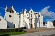 Blair Castle, Perthshire, Scotland is said to have been started in 1269 by John I Comyn, Lord of Badenoch
