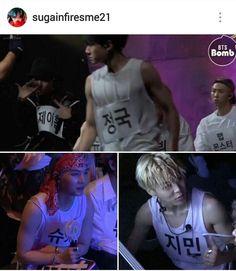 Holy Trinity - Mic Drop Backstage - Sleeveles Kookie, Park Jimin and Min Yoongi   #Suga   Agust D and Park Jimin - Bangtan Sonyeondan   BTS ♪