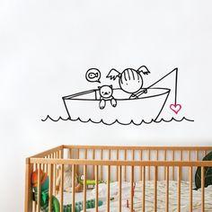 Vinilos infantiles para habitaciones de niñas
