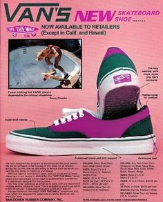 aa93260fcf The original Van Doren skateboard oxford were a must in the late   early in  Southern California where I grew up for the guys and girls alike.
