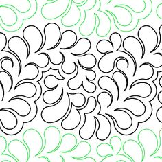 Bountiful Feathers - Digital - Quilts Complete - Continuous Line Quilting Patterns