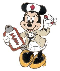 Nurse Clip Art with Sayings   back to mickey s pals clipart clipart in color black n white disney ...