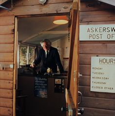In Askerswell, Dorset, there are stamps at the bottom of the garden where retired headteacher Peter Redwood runs a community office from his potting shed. Buildings, Stamps, Shed, Community, Garden, Life, Seals, Lean To Shed, Backyard Sheds