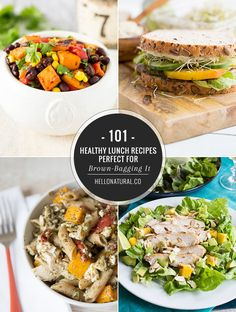 101 Healthy Lunch Recipes Perfect for Brown-Bagging It