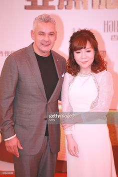 Italian former footballer Roberto Baggio attends the 2016 Shiny Star Ceremony of Asian micro business conference on December 12, 2016 in Macao, China.