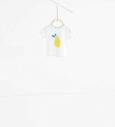 T-Shirt mit Birne-TOPS-MINI | 0 - 12 Monate-KINDER | ZARA Deutschland