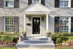 This house just oozes with charm! Charming Brick House Tour!  I love it all!