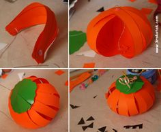 DIY Last minute easy Halloween decorations and crafts projects 2015 to save money and time.DIY Halloween decorations from pumpkins,paper etc Halloween Crafts To Sell, Easy Halloween Decorations, Diy Halloween, Diy Niños Manualidades, Manualidades Halloween, Easy Arts And Crafts, Diy Crafts For Kids, Craft Ideas, Toddler Crafts