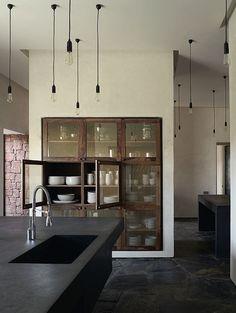 keuken stucwerk loft lovt vintage design