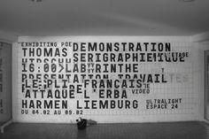 Le mur de l'école : Thomas Huot-Marchand