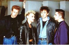 Beautiful young Depeche Mode