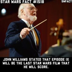 Sad to hear, but completely understandable. Thank you Mr. Williams for the amazing work you have done for Star Wars - Source:…
