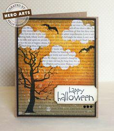 Halloween card by Kelly Rasmussen