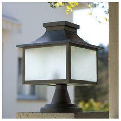 lámpara sobremuro de exterior fabricada por GreenArt.
