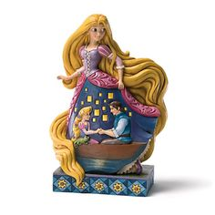 Jim Shore Disney Traditions Rapunzel Figurine