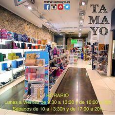 Recuerda los horarios de #TamayoPapeleria #donostia #SanSebastian los Sábados hasta las 13:30h por la mañana o de 17 a 20h por la tarde. Te esperamos!