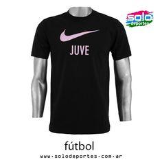 Remera Juventus Basic Core Negro/Rosa  Marca: Nike 510020534980010   $ 239,00 (U$S 41,92)