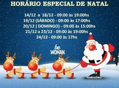 Horário especial de #Natal #BeWoman #Laranjeiras #Serra #ES  #ModaFeminina #Roupas  #ModaPraia #Biquínis  #ModaÍntima #Lingerie