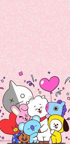 Bts Wallpaper Lyrics, Wallpaper Doodle, Pop Art Wallpaper, Kawaii Wallpaper, Anime Naruto, Korea Wallpaper, Boy Scouts, Cute Kawaii Drawings, Blackpink And Bts
