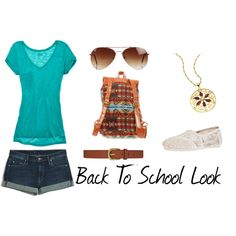 """Back To School Look 2"" by monica-rodriguez981821 on Polyvore"