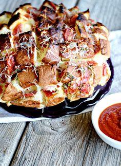 King's Hawaiian Pepperoni Pizza Bread