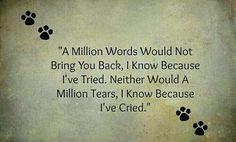 A million tears