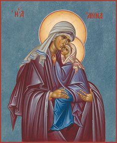 Saint Joachim, Byzantine Icons, Blessed Virgin Mary, Art Icon, Orthodox Icons, Blessed Mother, Belgrade, Angels, Spirituality