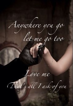 All I Ask of You ~ Phantom of the Opera