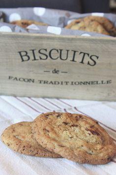 Goûtez aux meilleures cookies aux pépites de chocolat