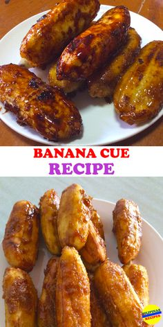Ube Recipes, Banana Recipes, Cooking Recipes, Vegetarian Recipes, Plantain Recipes, Dessert Recipes, Filipino Street Food, Japanese Street Food, Salads