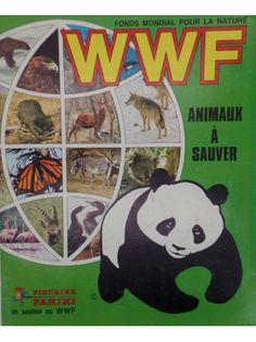 Album Panini : WWF - Animaux à sauver