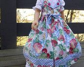 German Summer Dirndl folkloric traditional dress for 20 inch Karito Kids dolls (DOLL NOT INCLUDED)