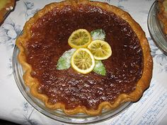 Just Cookin': Southern Sweet Tea Pie Yummy Treats, Delicious Desserts, Pie Recipes, Dessert Recipes, Southern Sweet Tea, Southern Recipes, Southern Food, Kinds Of Pie, Recipe Link